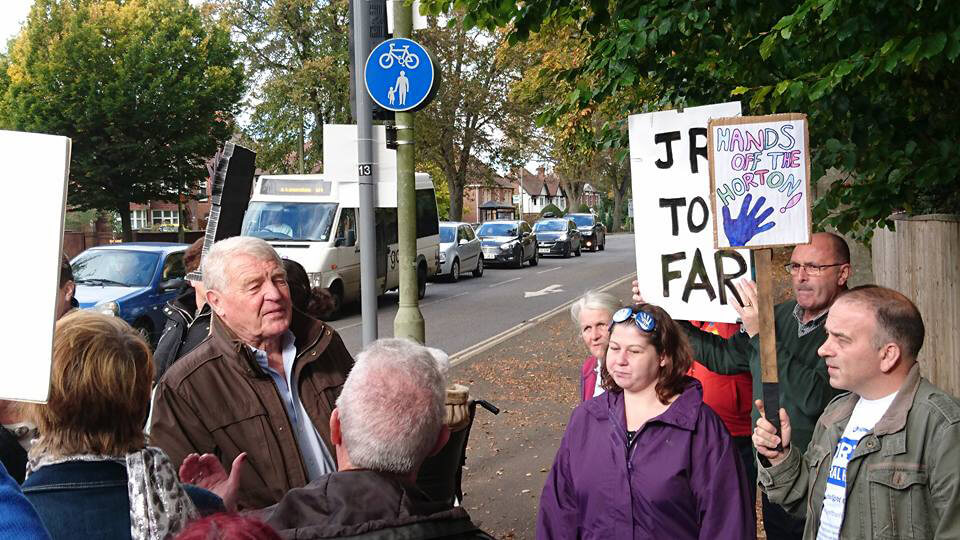 Paddy Ashdown meets Horton campaigners and pledges support 19 October 2016