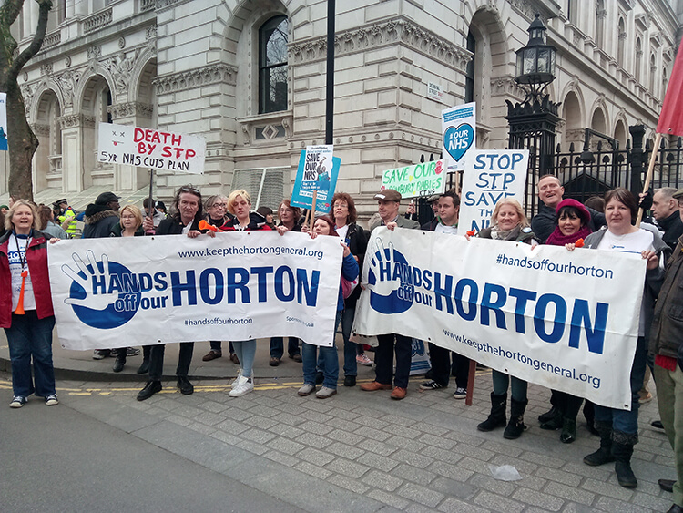 Horton supporters