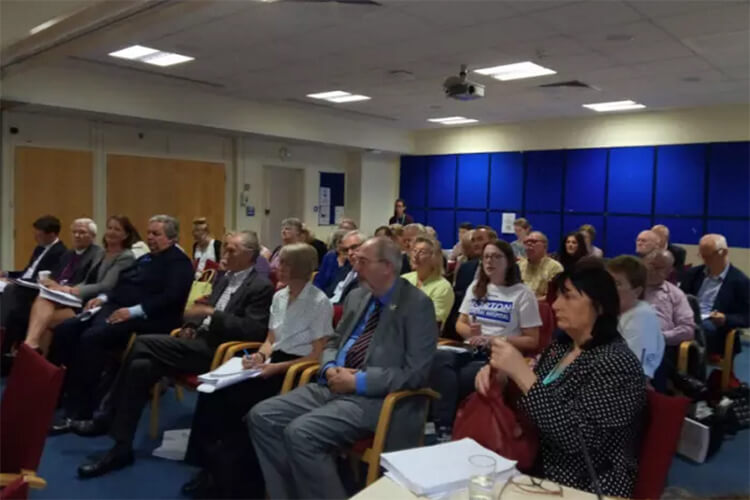 Audience at HOSC meeting 7 Aug 2017