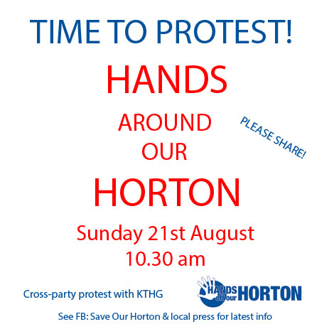 Hands Around Our Horton graphic